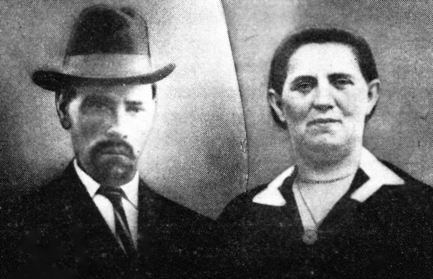Max Lewin's parents: Yechiel and Sarah Abramson Lewin.